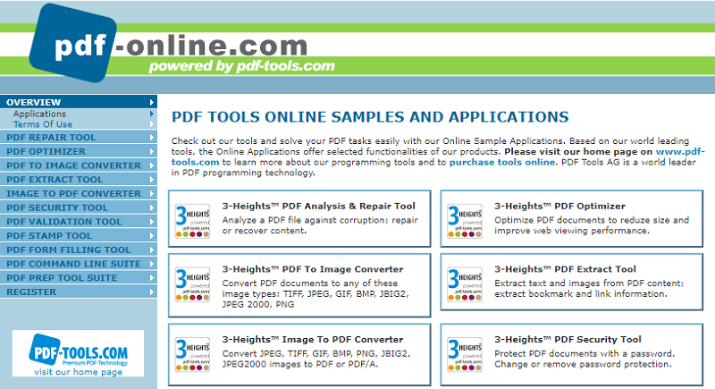 Online Tools for Extracting Images from PDF Files
