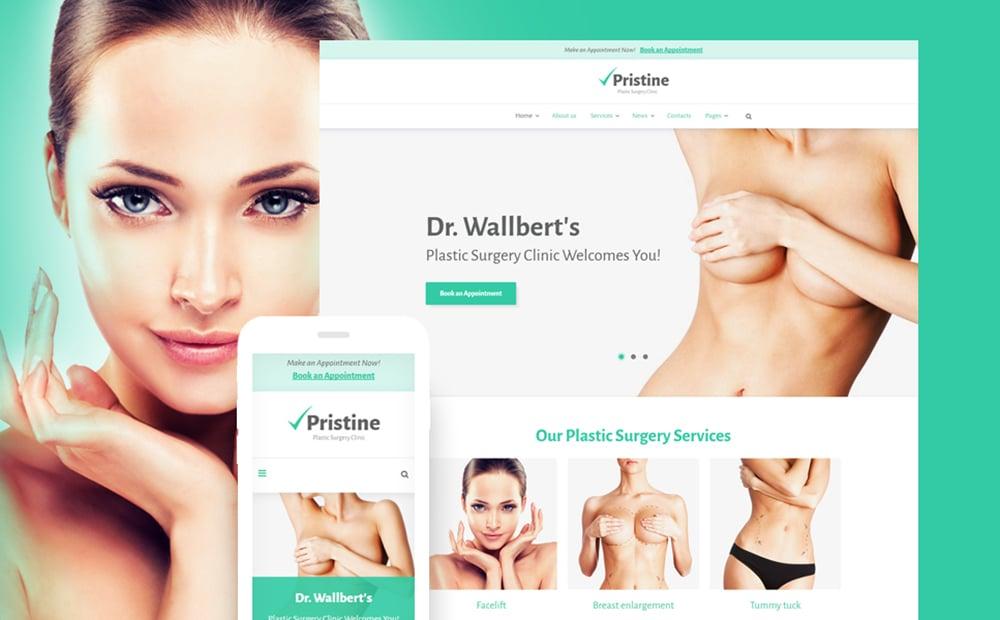 Plastic Surgery WordPress Theme