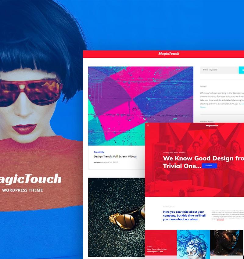 MagicTouch - Web Design Studio Responsive WordPress Theme