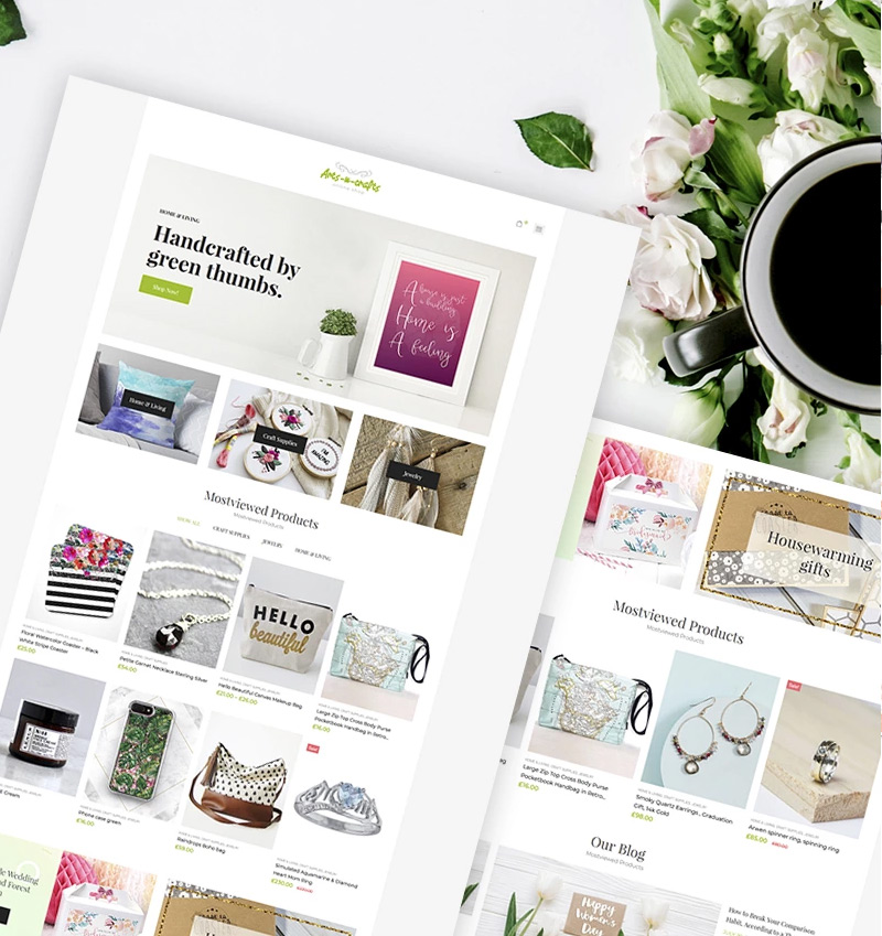 Arts-n-crafts - Handmade Art Elementor WooCommerce Theme