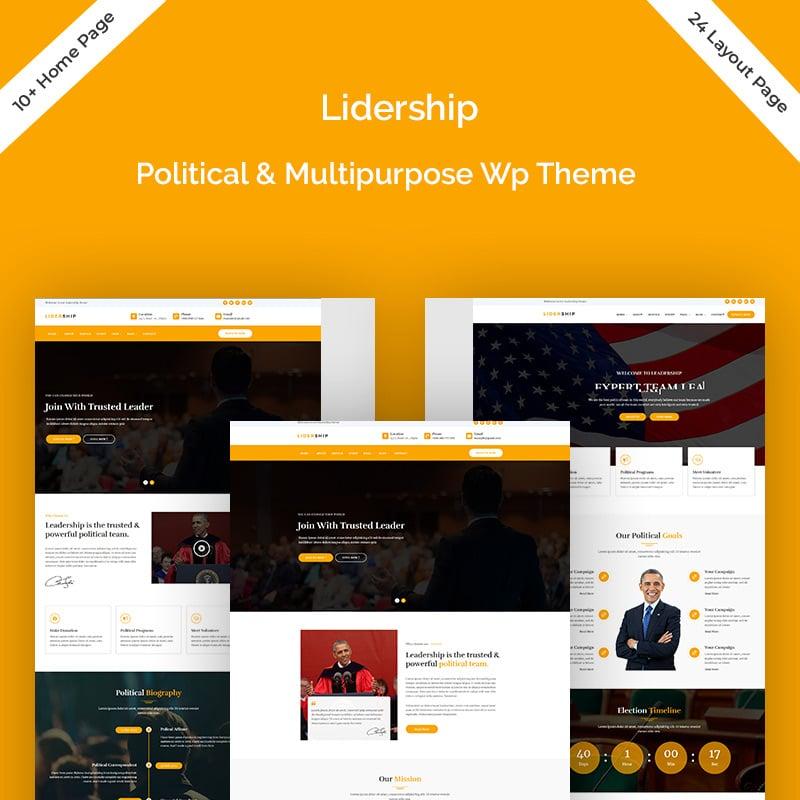 Political Multipurpose WordPress Theme
