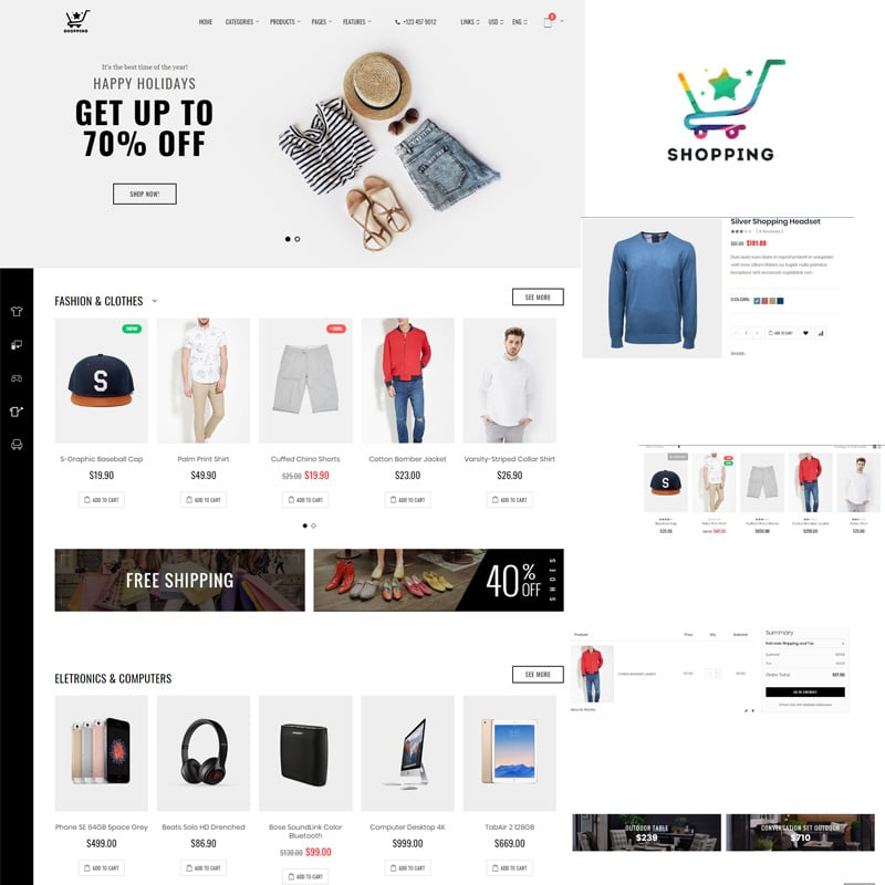 Bootstrap eCommerce Website Template