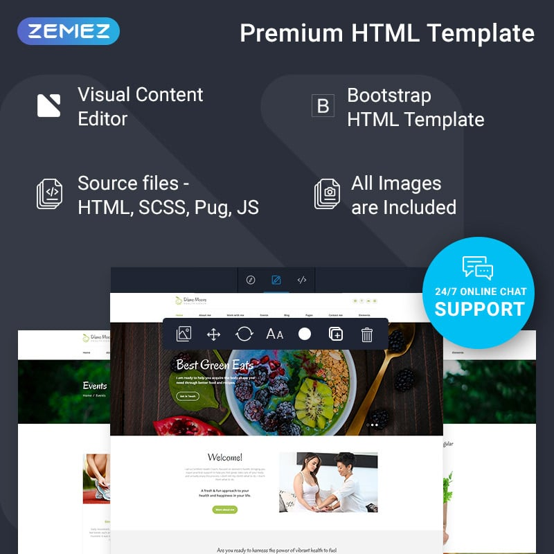 Doctor Ready-to-Use Clean HTML Website Template