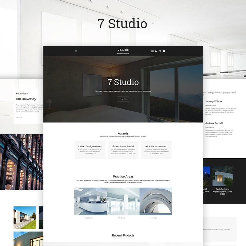 Architecture Firm Ready-made Website