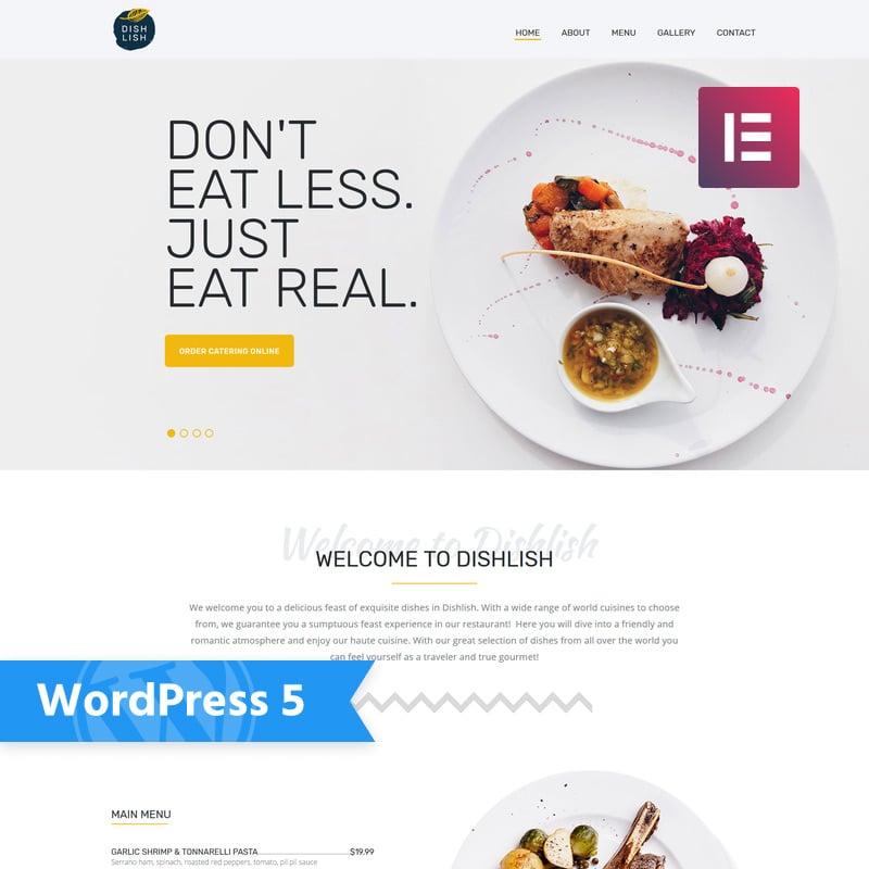 Restaurant Multipurpose Classic Elementor WordPress Theme