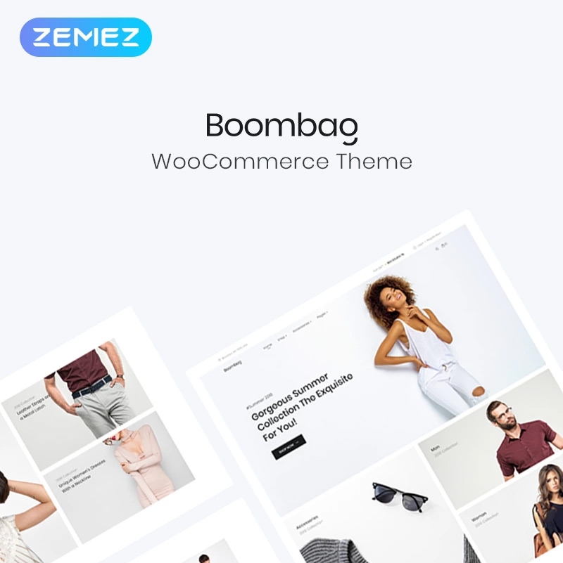 Boombag - Apparel ECommerce Modern Elementor WooCommerce Theme