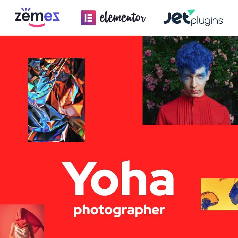 Yoha — Fashion Blogger Wordpress Theme Minimalist