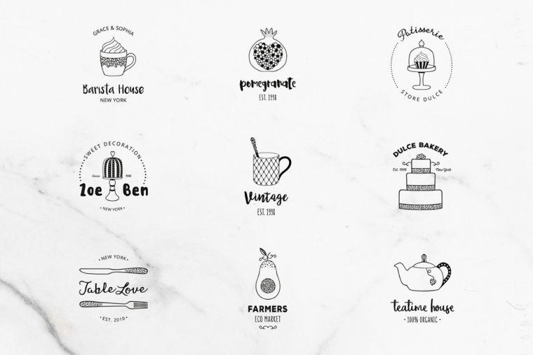 Premade Logo Set Logo Template