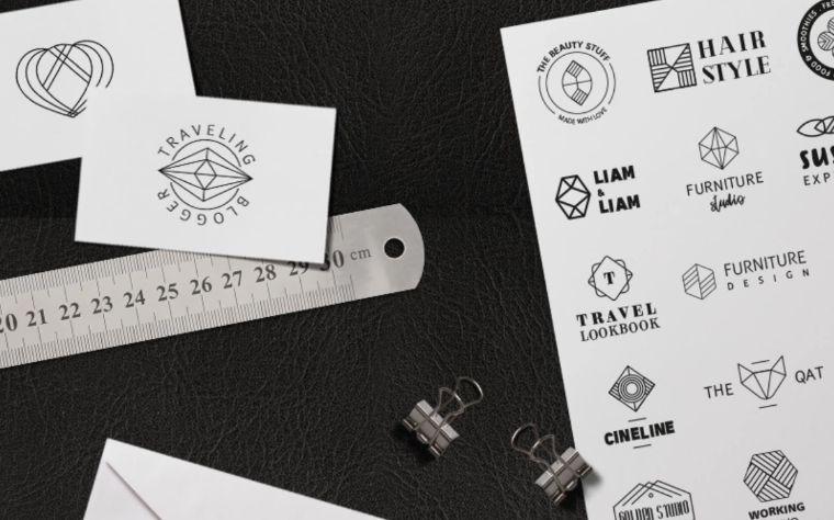 Geometric Edition Logo Template