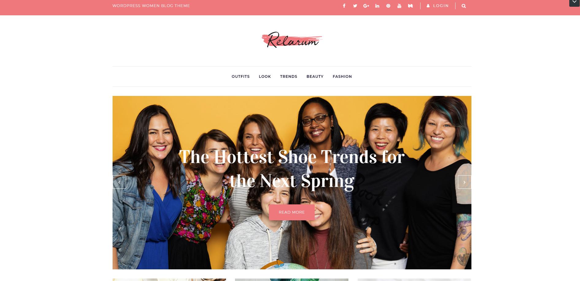 Relarum - Women Blog Multipurpose Classic Elementor WordPress Theme