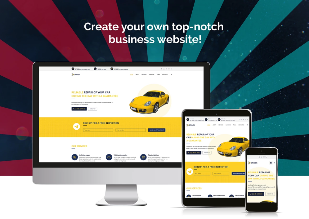 80 Top Trending Car Dealer And Automotive Wordpress Themes 2020