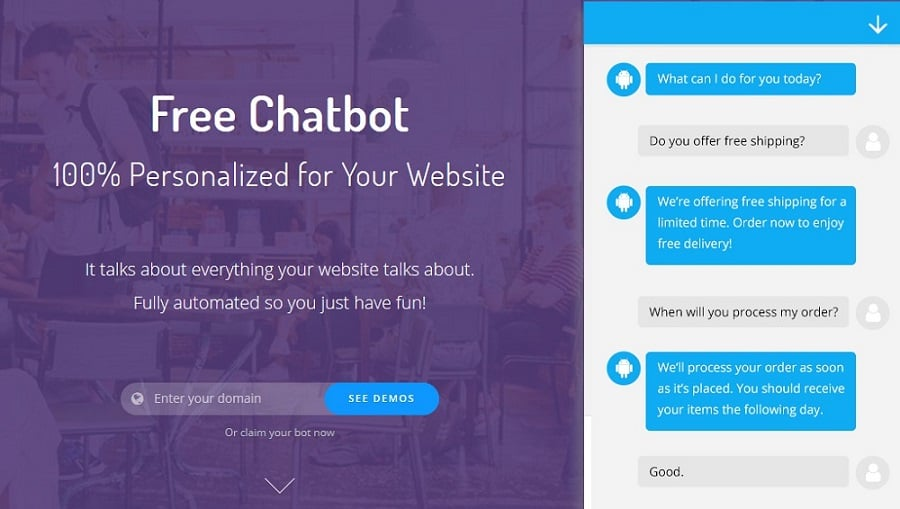 Acobot Lead Generation AI Chatbot