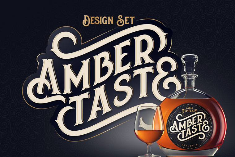 Amber Taste Font.