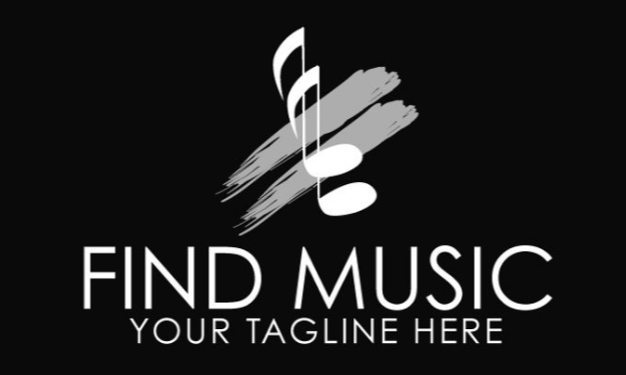 find music logo template