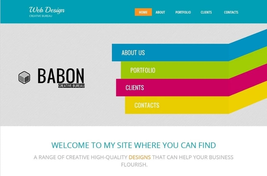 Design Studio Free HTML5 Theme Website Template