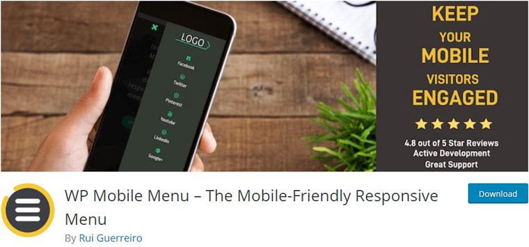 WP Mobile Menu.