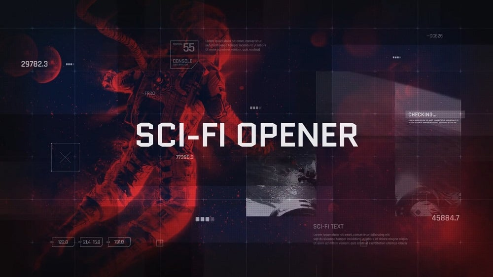 Sci-Fi Opener - After Effects Template