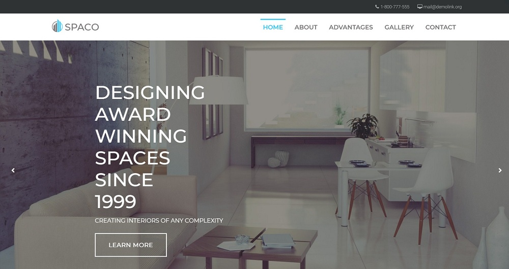 Spaco - Architecture Multipurpose Modern Elementor WordPress Theme