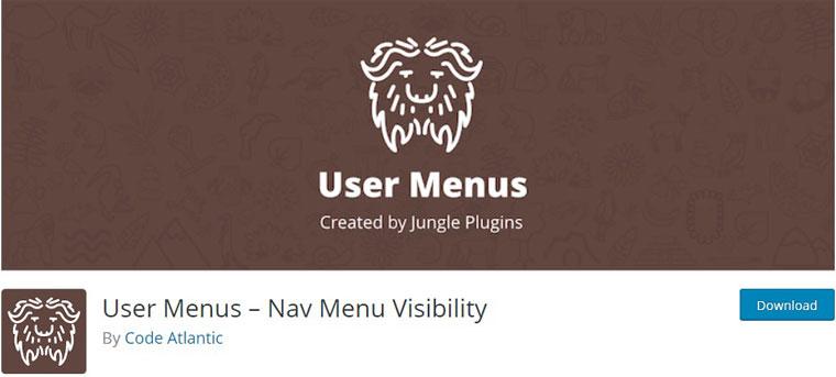 User Menus.