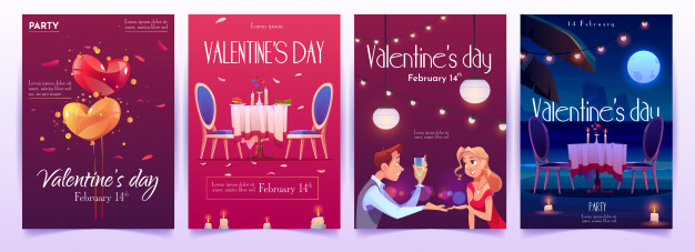 valentine-s-day-banners-set
