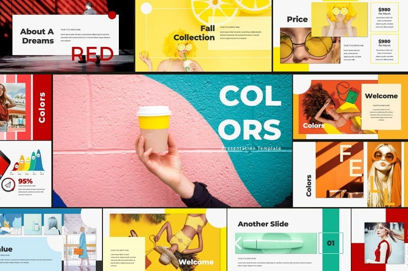 Colors Keynote Template