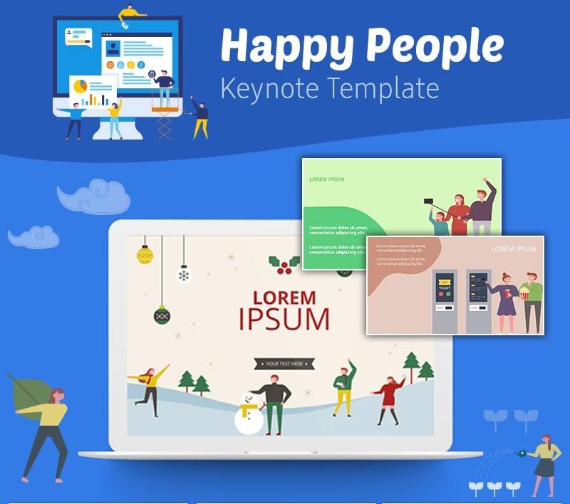 Happy People Keynote Template