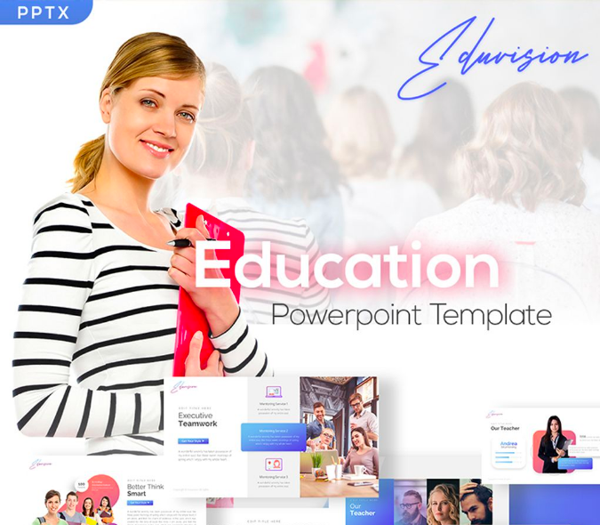 Ppt Education Template from www.templatemonster.com