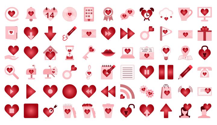 St Valentine's Icons