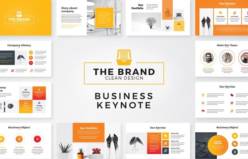 The Brand - Keynote Template