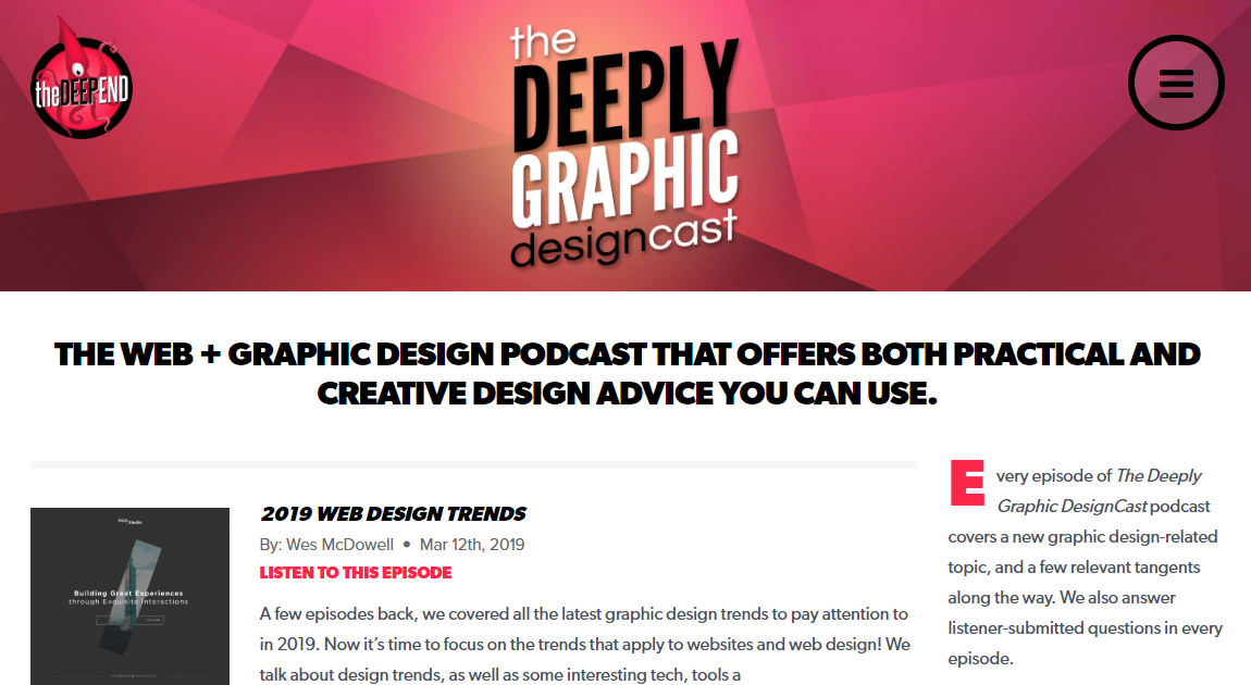 10 Graphic Design Podcasts To Listen To In 2020
