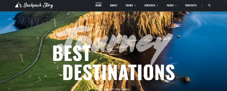 Backpack-Story---Online-Travel-Agency-Website-Template