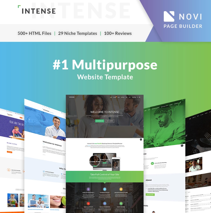 Top 75 Responsive Free HTML5 Website Templates 2019
