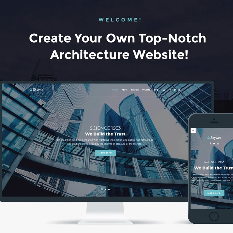 Architecture Multipurpose Modern Elementor WordPress Theme