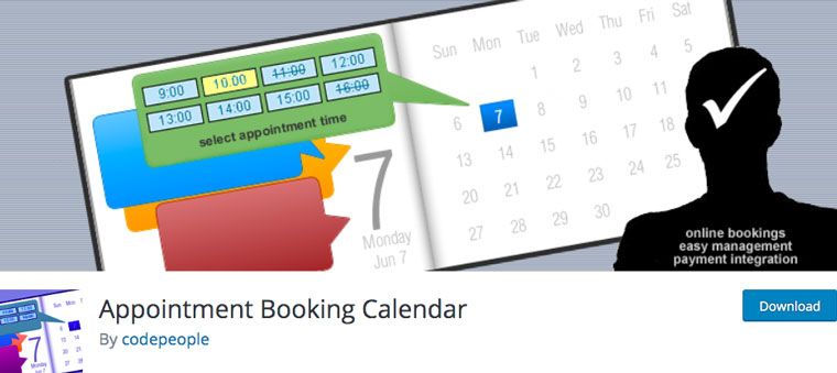 Appointment Booking Calendar.