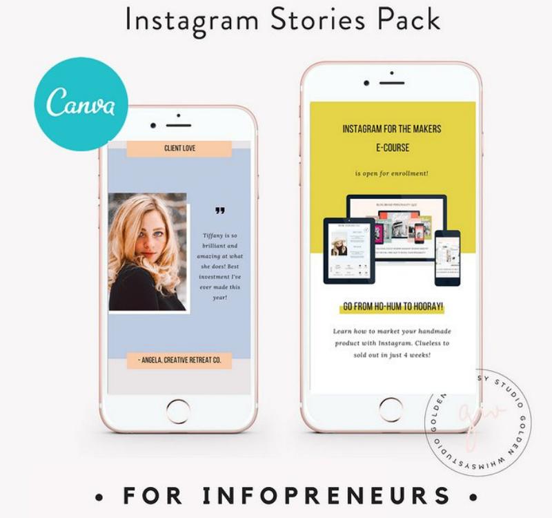 CANVA Infopreneur Insta Stories Social Media