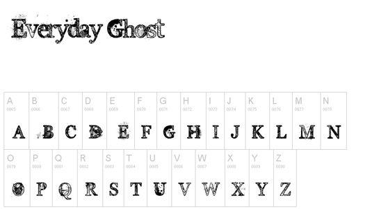 Everyday Ghost.