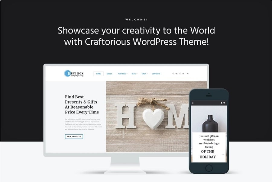 Gift Box - Handmade Gifts Store Elementor WooCommerce Theme