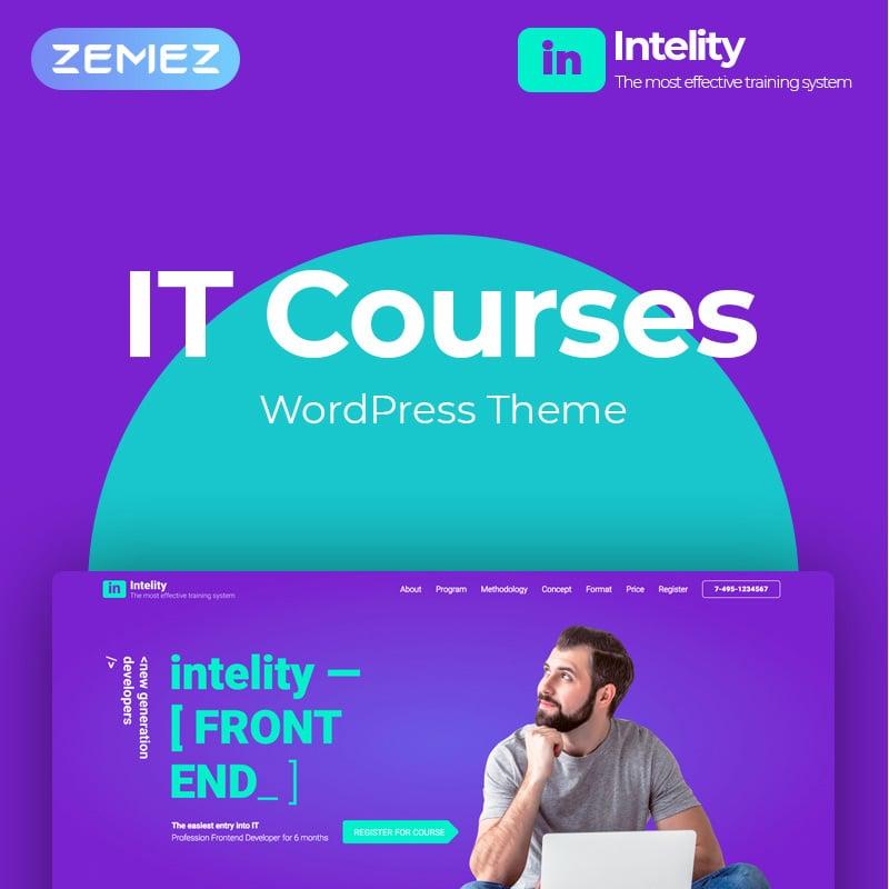 IT Courses Elementor WordPress Theme
