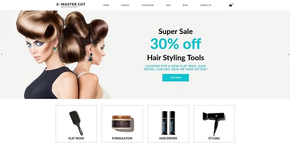 Master Cut - Beauty Clean Shopify Theme