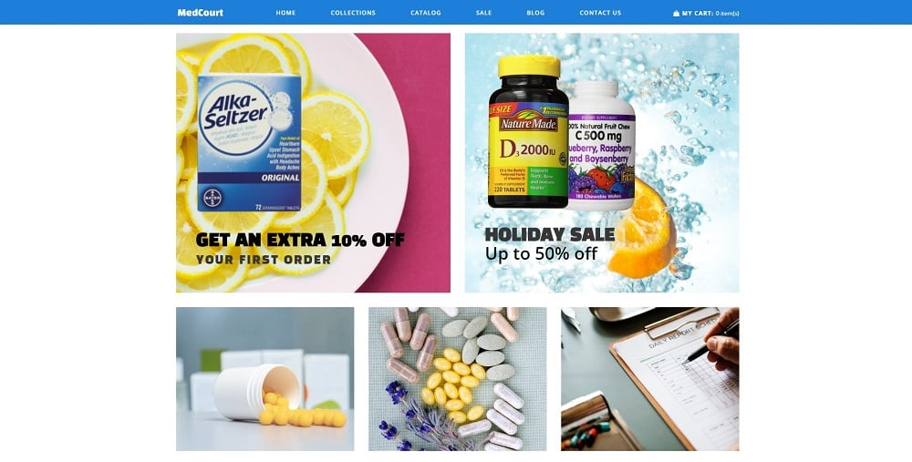 MedCourt - Pharmacy Clean Shopify Theme