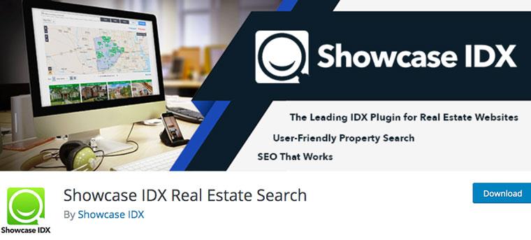 Showcase IDX Real Estate Search.