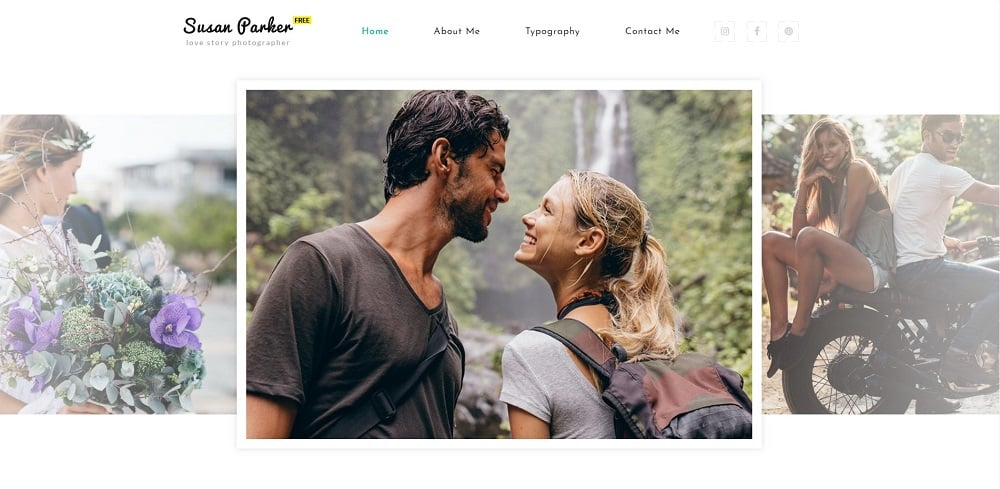 Free Responsive HTML5 Theme for Photo Site Website Template