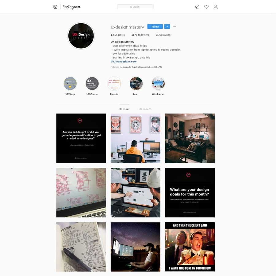 Must Follow Ux And Ui Designers To Follow On Instagram 2020