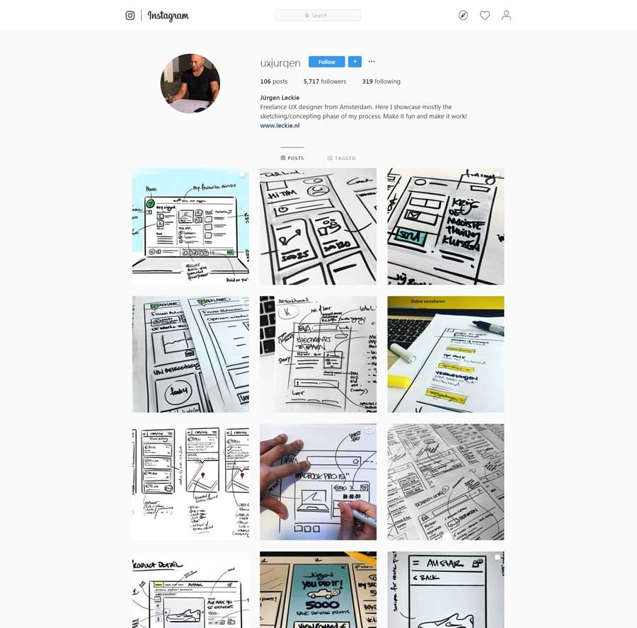 80+ Must-Follow UX and UI Designers on Instagram