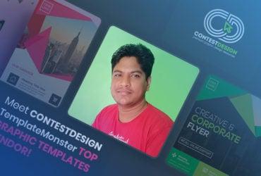 Meet ContestDesign, TemplateMonster Top Graphic Templates Author!