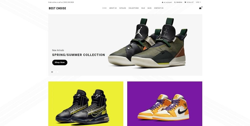 Best Choice - Shoes Store Clean Shopify Theme
