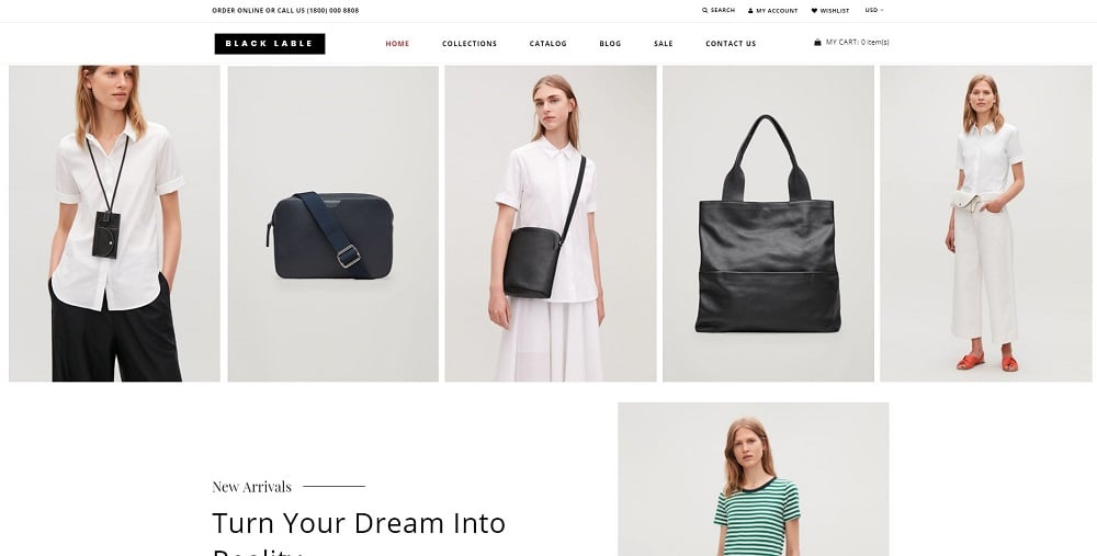 Black Lable - Fashion Accessories Store Shopify Theme