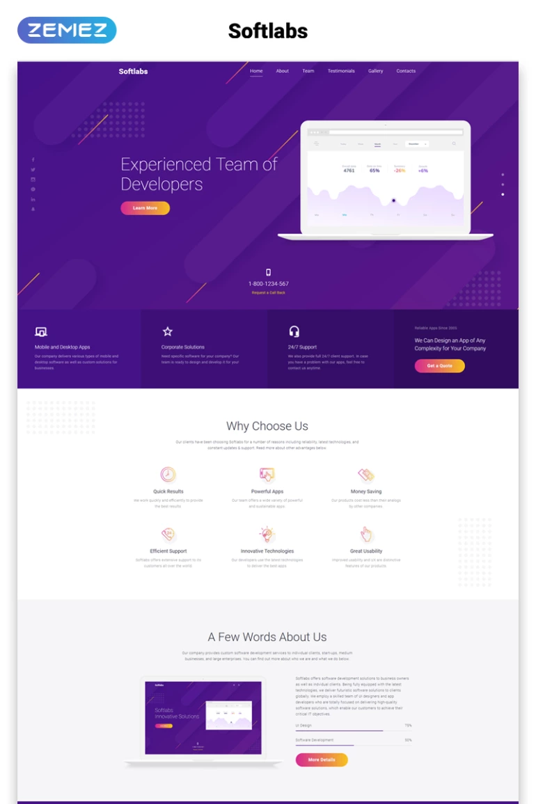Pay Only $19 Per Month And Get 209 Landing Page Templates