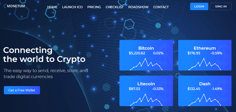 Monetum - Crypcocurrency Investment Elementor WordPress Theme