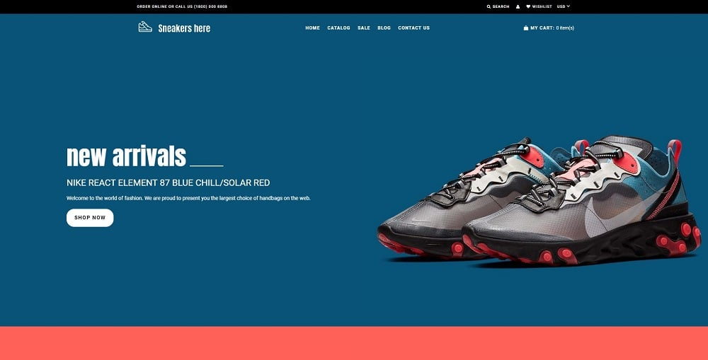 Sneakers Here - Sneakers Store Shopify Theme